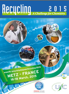SGS participe au colloque « Recycling » sur le thème « Challenges for recycling – The contribution of chemistry »