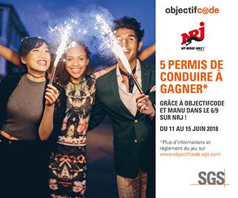Jeu Concours Objectifcode En Partenariat Avec Nrj 5 Permis De Conduire A Gagner Sgs France